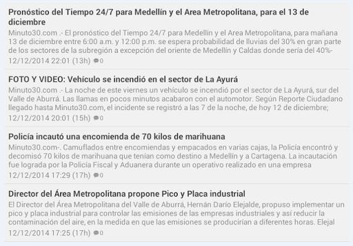 Noticias Medellin