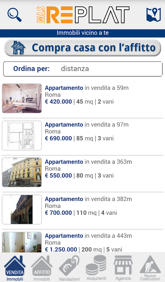 Agenzia Replat- screenshot
