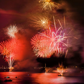 On the Atlantic by Darrell Champlin - Public Holidays New Year's Eve