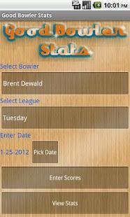 Good Bowler Stats - screenshot thumbnail