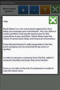 Stock News - screenshot thumbnail