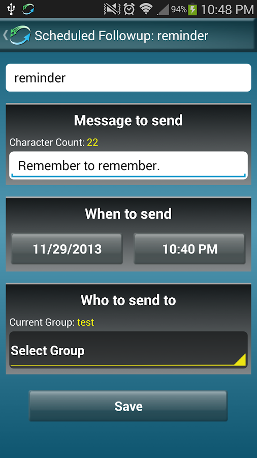 Bulk SMS Mass Text Marketing- screenshot