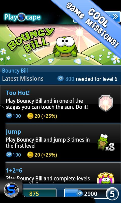 Bouncy Bill - screenshot
