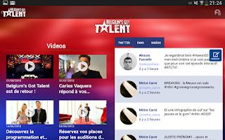 Screenshot of RTL TVI
