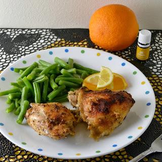 Citrus Marinated Roasted Chicken