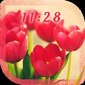 Pink Tulips live wallpaper