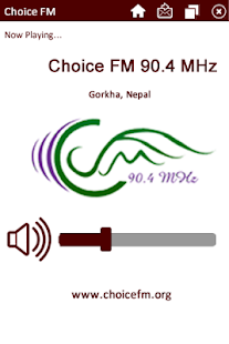 Choice FM - screenshot thumbnail