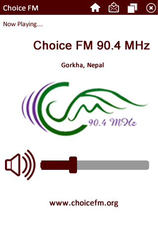 Choice FM - screenshot