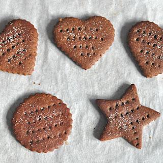 Homemade Chocolate Graham Crackers
