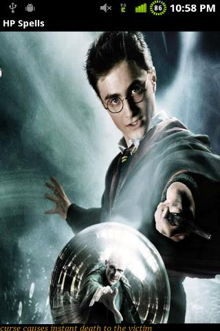 Harry Potter Spells - screenshot