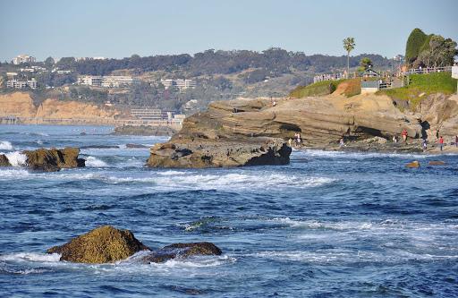 San-Diego-La-Jolla-Cove - La Jolla Cove beach, just outside San Diego.