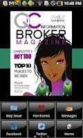Screenshot of QC Information Broker Magazine