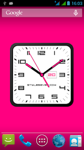 Square Clock Android-7 - náhled