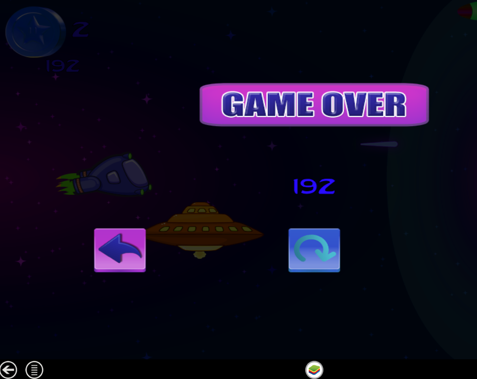 Amazing Space Adventure  2D - screenshot