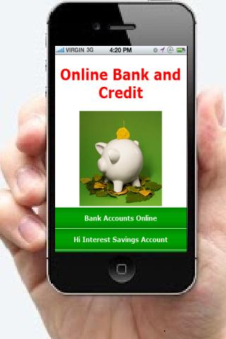 Online Bank and Credit