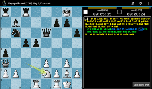 Chess ChessOK Playing Zone PGN - screenshot thumbnail