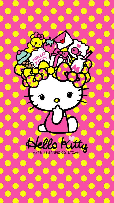 Hello Kitty Tokidoki Iphone Wallpaper