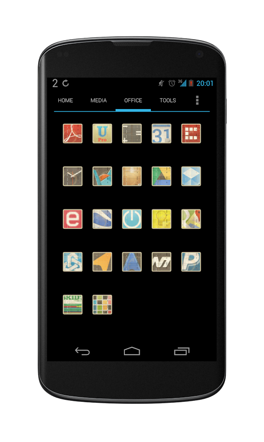 Getaways icon theme - screenshot