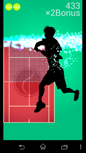 1 64控制的網球!