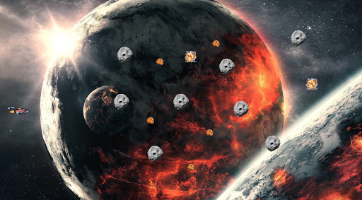 Asteroids Impossible Free HD