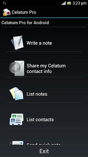 Celatum Pro Secure Chat Notes