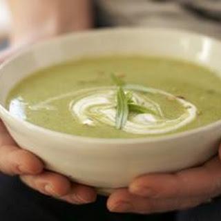 Broccoli Stalk Soup.