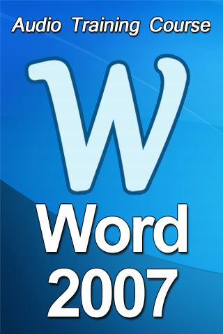 Аудиокурс Microsoft Word 2007