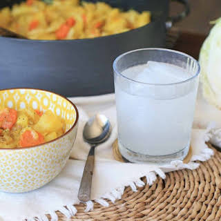 Ethiopian Cabbage, Potato and Carrot Stir-Fry.