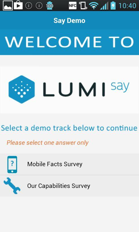 Lumi Say - screenshot
