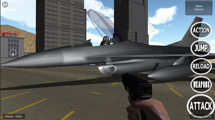 Jet Plane 3D Flying Simulator - screenshot