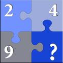 لعبة الرقم المجهول icon