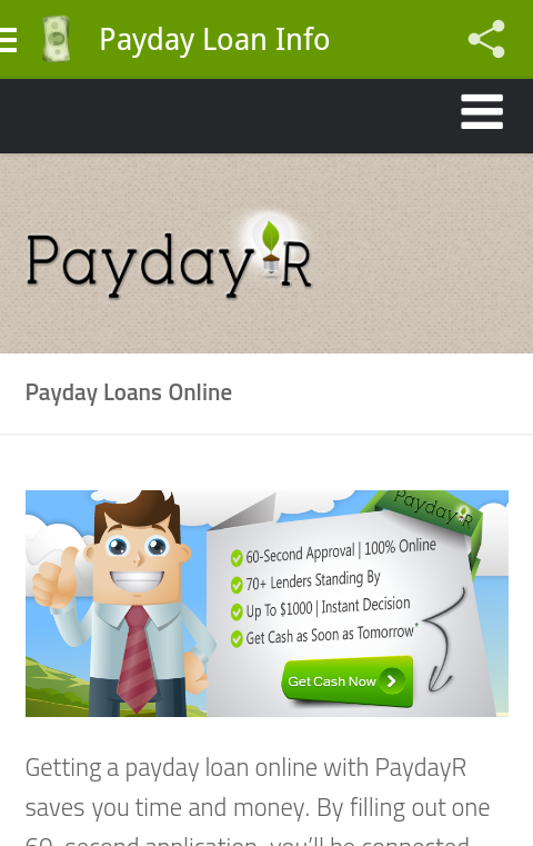 Payday Loans Online- screenshot