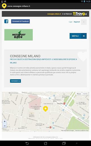 Consegne Milano