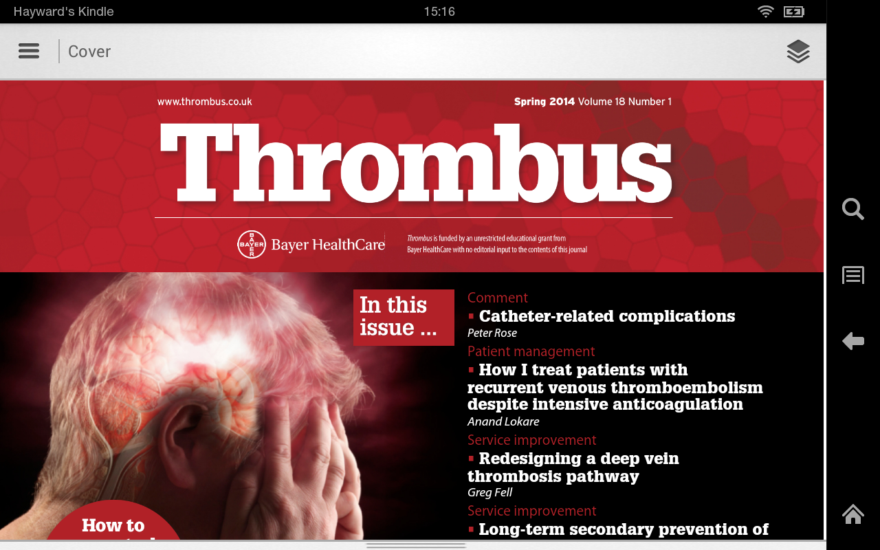 Thrombus- screenshot