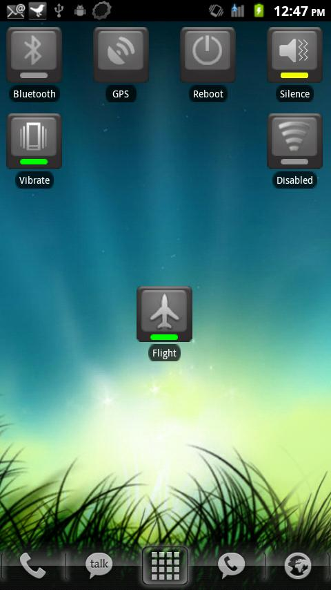 Airplane Mode Toggle - screenshot