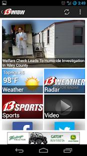 WIBW News - screenshot thumbnail