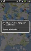 Screenshot of Go Helsinki