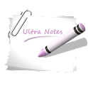 Ultra Notes logo