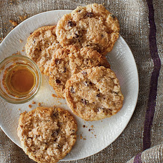 Oatmeal, Chocolate, and Walnut Cookies.