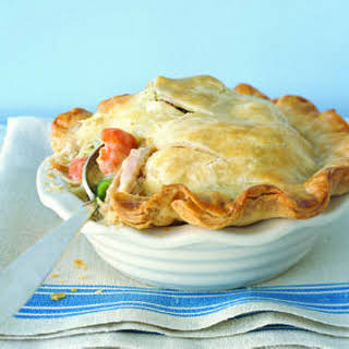 Individual Chicken Potpies.