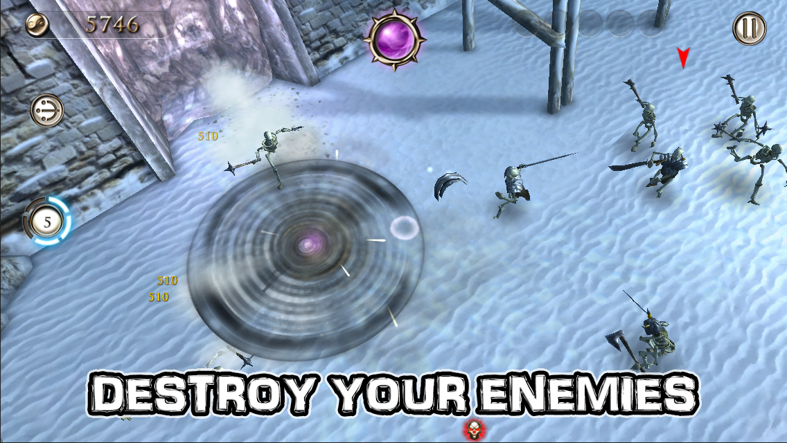 Smash Spin Rage- screenshot