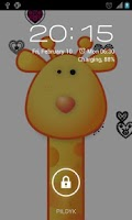 Screenshot of Giraffe Live Wallpaper HD
