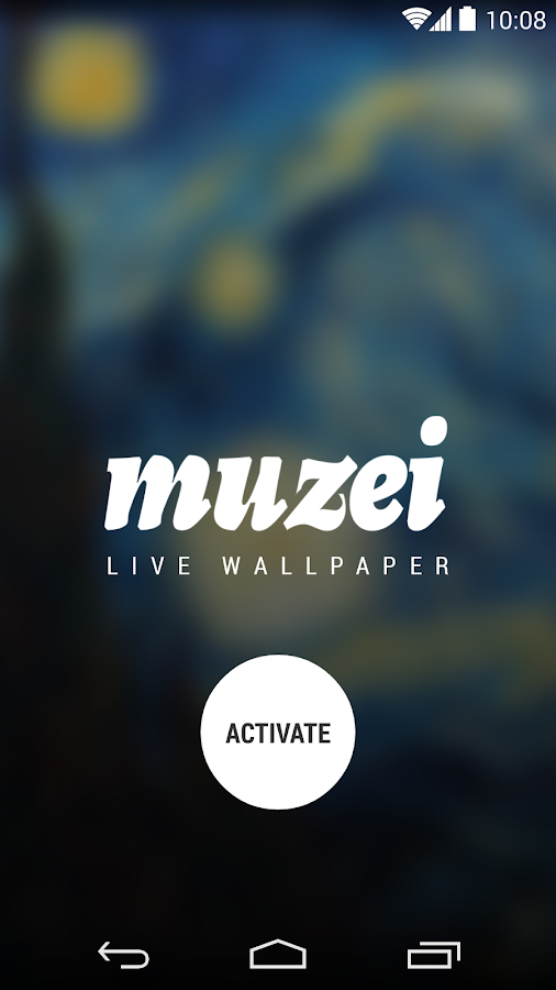 Muzei Live Wallpaper - screenshot