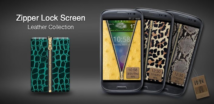 Zipper Lock Leather Collection apk