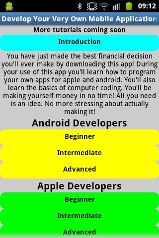 Develop a Mobile App