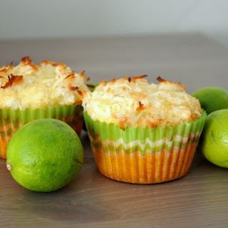 Coconut Key Lime Muffins.