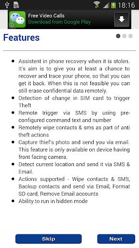 GetBack anti theft