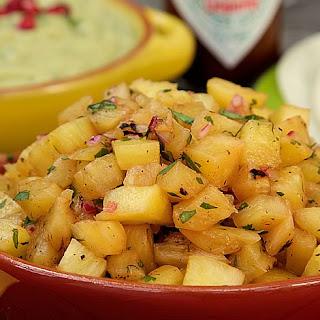 Roasted Pineapple Salsa