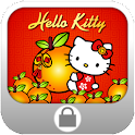Orange CNY Screen Lock icon