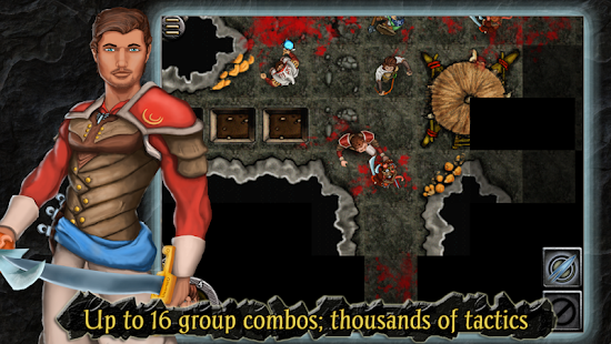 Heroes of Steel RPG Screenshot 4